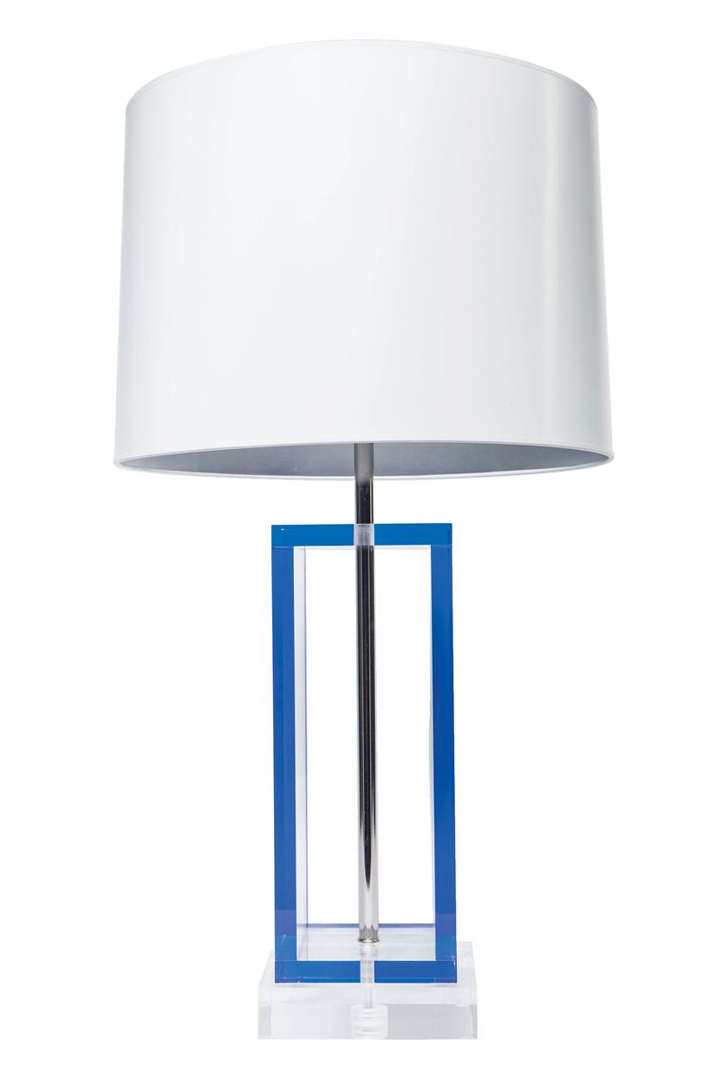 Acrylic-Acrobat-Lamp---Blue---Front-View