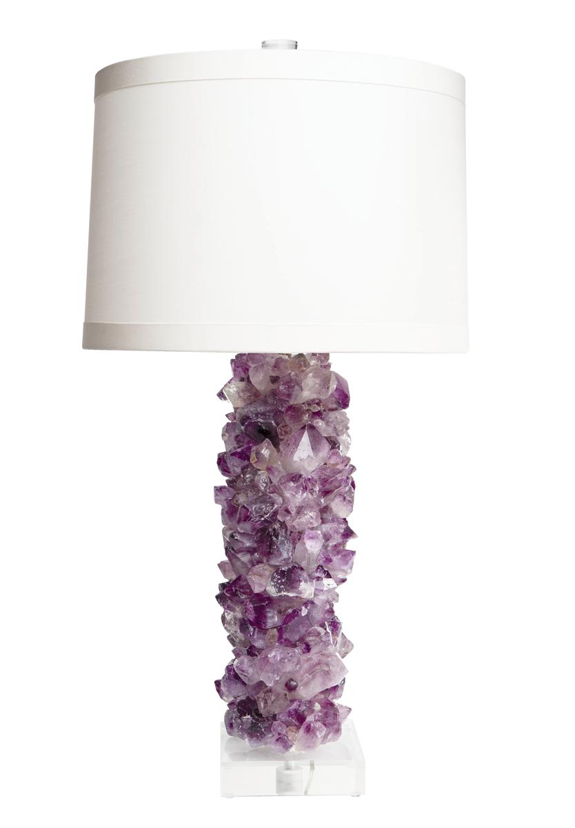 Amethyst-Lamp
