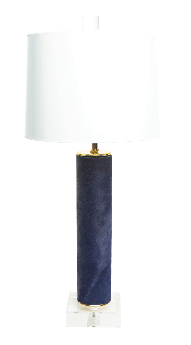 Brass-&-Beast-Mini-Lamp---Navy