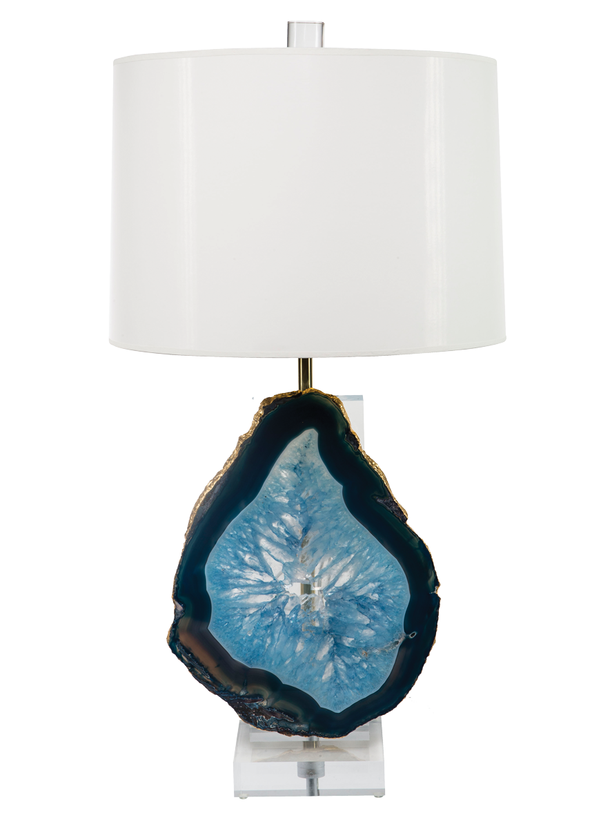 Glamazon-Lamp-with-Agate---Blue